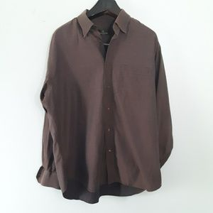 Bugatchi Uomo Men's Large Casual Buttondown Shirt